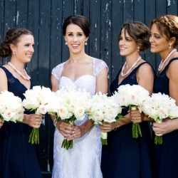 toronto-bridal-style-bridesmaids-wedding-party-barn-outdoor-wedding-bride-makeup-side-hairstyle