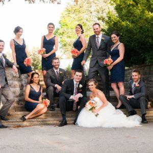 burlinton-botanical-gardens-mississauga-wedding-bridesmaids-outdoor