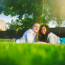 engagement makeup-queens park-toronto-photoshoot-couple-engaged