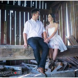 mississauga-engagement-photoshoot-barn-country-toronto-bridal-style-makeup-artist-casual-cowboy-boots