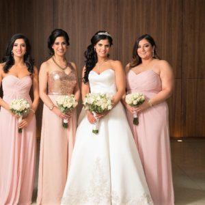 persian-wedding-four-seasons-bridesmaids-rose-gold-blush-pink-bridal-party