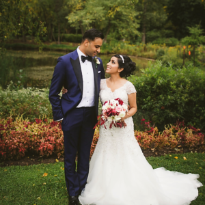 south-asian-christian-wedding-toronto-bridal-updo-hairstyling-makeup-artist-bride-and-groom-outdoor