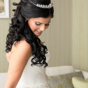 Traditional Wedding Tiara Love The Dress And Gloves Stunning